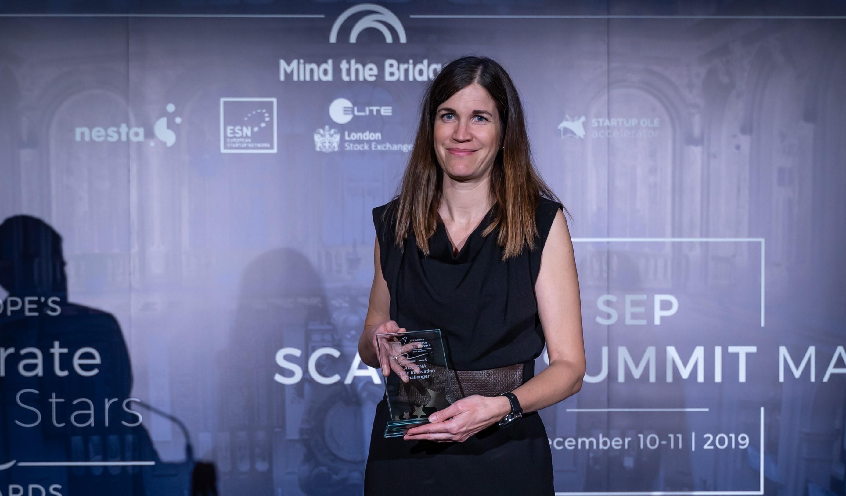 La Unión Europea premia a ACCIONA por integrar en su negocio la innovación con startups